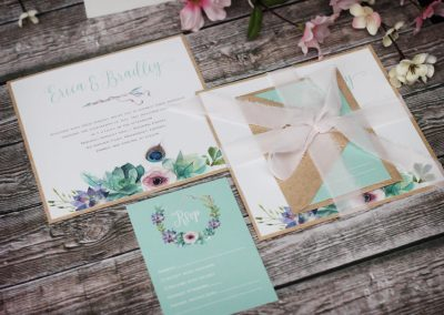 boho wedding invitations, boho wedding, bohemian wedding, succulents invitation, watercolour wedding invitations, floral wedding invitations, rustic wedding invitations, chiffon wedding invitations, watercolour wedding, succulents wedding, boho invitations, bohemian invitations