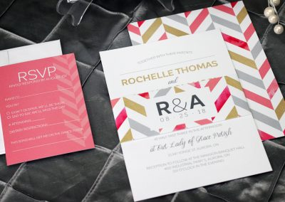 chevron wedding invitations, bold pattern invitations, modern wedding invitations, casual wedding invitations, watercolour wedding invitations, gold wedding invitations, bold wedding invitations, chevron wedding, geometric pattern invitations, geometric wedding invitations