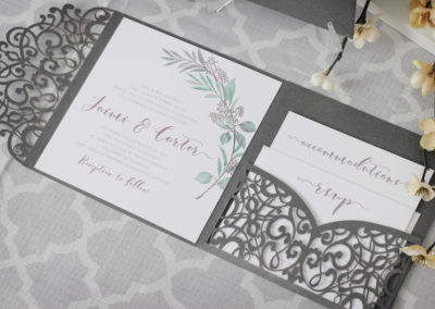 tuscan wedding invitations, laser cut wedding invitations, laser cut pocket invitations, intricate wedding invitations, olive branch wedding invitations, watercolour wedding invitations, tuscany wedding, vineyard wedding invitations, vineyard wedding, custom wedding invitations, wedding invitations toronto