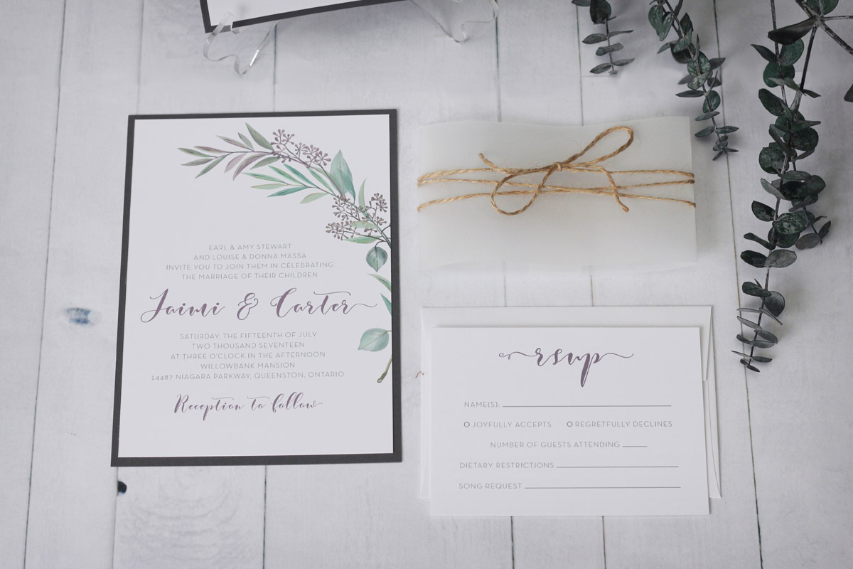 Rustic tuscany wedding invitation impressions custom additional add ons and upgrades available contact us for a more detailed quote negle Choice Image