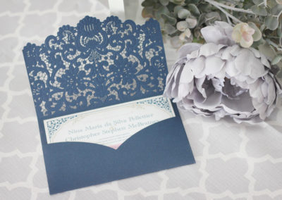 vintage wedding invitations, laser cut wedding invitations, laser cut pocket, laser wedding invitations, lace wedding invitations, pocket wedding invitations, intricate laser cut invitations, custom wedding invitations, wedding invitations toronto, wedding invitations GTA