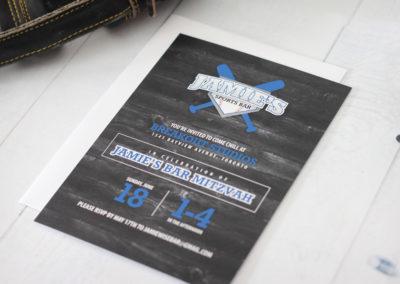 Sports Bar Mitzvah Invitations